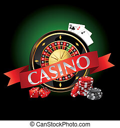 elements casino, roulette, cards