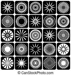 elements., dekoracyjny zamiar