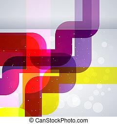 elements., elvont, vektor, tervezés, háttér, csövek