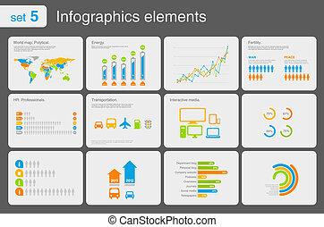 elements, infographics