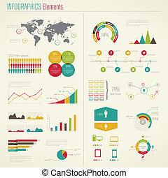 elements., infographics