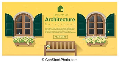 Elements of architecture , window background 15 - Elements...