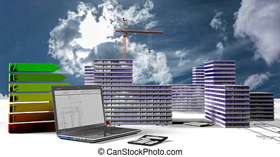Elements of construction, Construction of a residential...