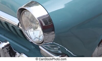 Elements of the old Soviet car GAZ 21 - Elements of the old...