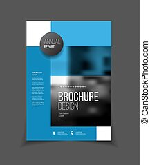 elements., rapport photo, partie., taille, gabarit, géométrique, présentation, business, affiche, text., aviateur, a4, brochure, graphique, illustration., annuel, magazine, vecteur, constitué, ou, cover.