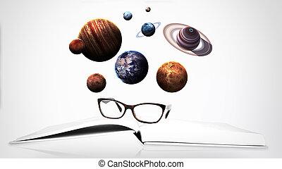 elementy, Dostarczony, to, wizerunek, Przestrzeń, system,...