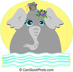 Elephant and Mouse are Friends