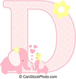 elephant baby girl initial d