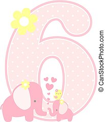 elephant baby girl number 6