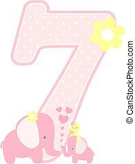 elephant baby girl number 7