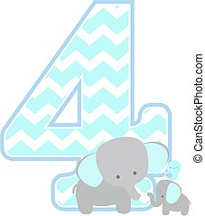 elephant baby number 4
