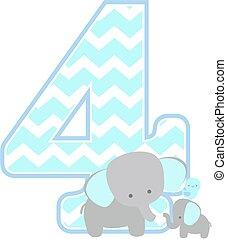 elephant baby number 4