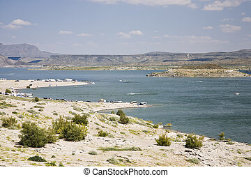 Elephant Butte Lake State Park in New Mexico, USA