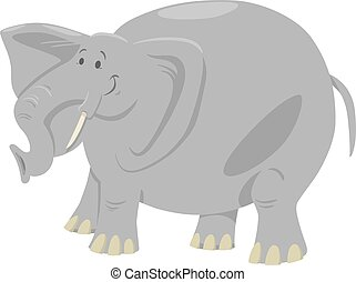 elephant cartoon safari animal