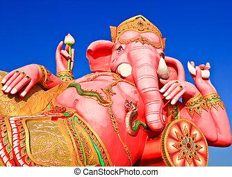 Elephant-headed god Chachoengsao, Thailand