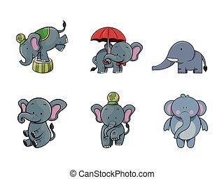 elephant illustration design