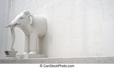 Elephant in the wall