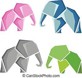 Elephant logotypes