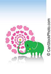 elephant love letter