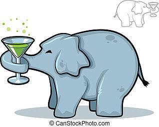 Elephant Martini