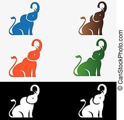 Elephant Set Logo