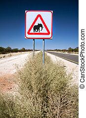 Elephant signage