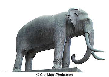 Elephant Statue beautiful in Thailand