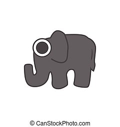 elephant vector , logo graphic design