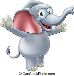 Elephant Waving