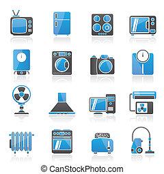 eletrônica lar, ico, eletrodomésticos
