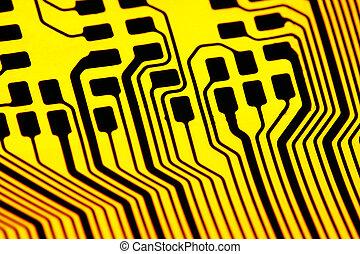 eletrônica, tecnologia, fundo