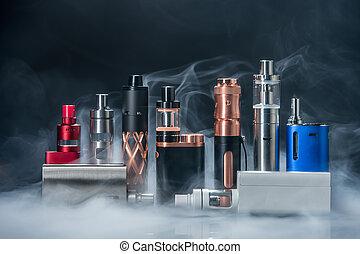 eletrônico, cigarro