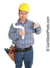 eletricista, &, encanamento