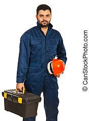eletricista, trabalhador