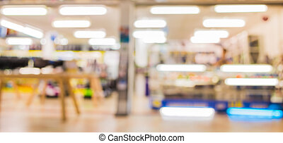 eletronic, image, bokeh, barbouillage, grand magasin