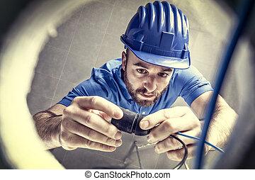 elettricista, lavoro