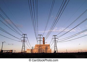 elettricità, generat
