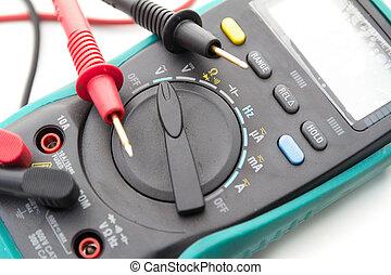 elettrico, multimeter