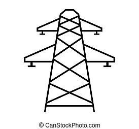 elettrico, torre