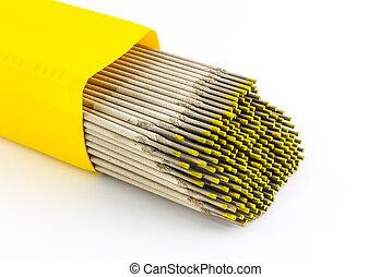 elettrodi, wire., saldatura