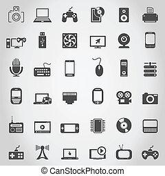 elettronica, icona
