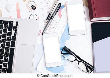 elettronico, ufficio, congegni,  desktop
