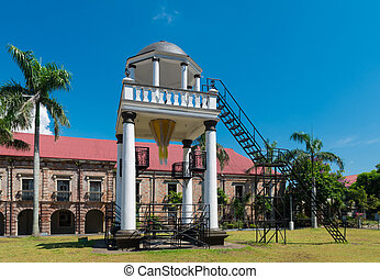 elevated pavilion