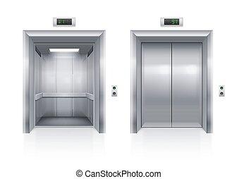 elevator ajtó