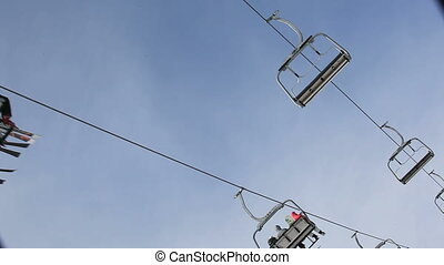 elevator at the ski resort