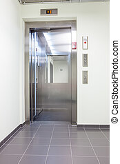 elevator in the hall