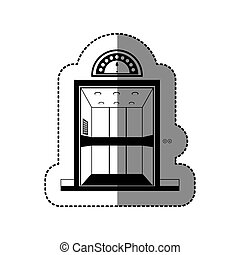 elevator open related icon