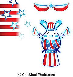 elezione, coniglio