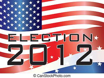 elezione, illustrazione, 2012