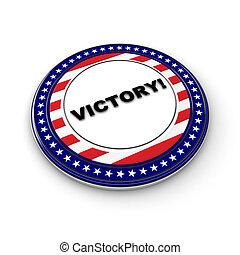 elezione, vittoria